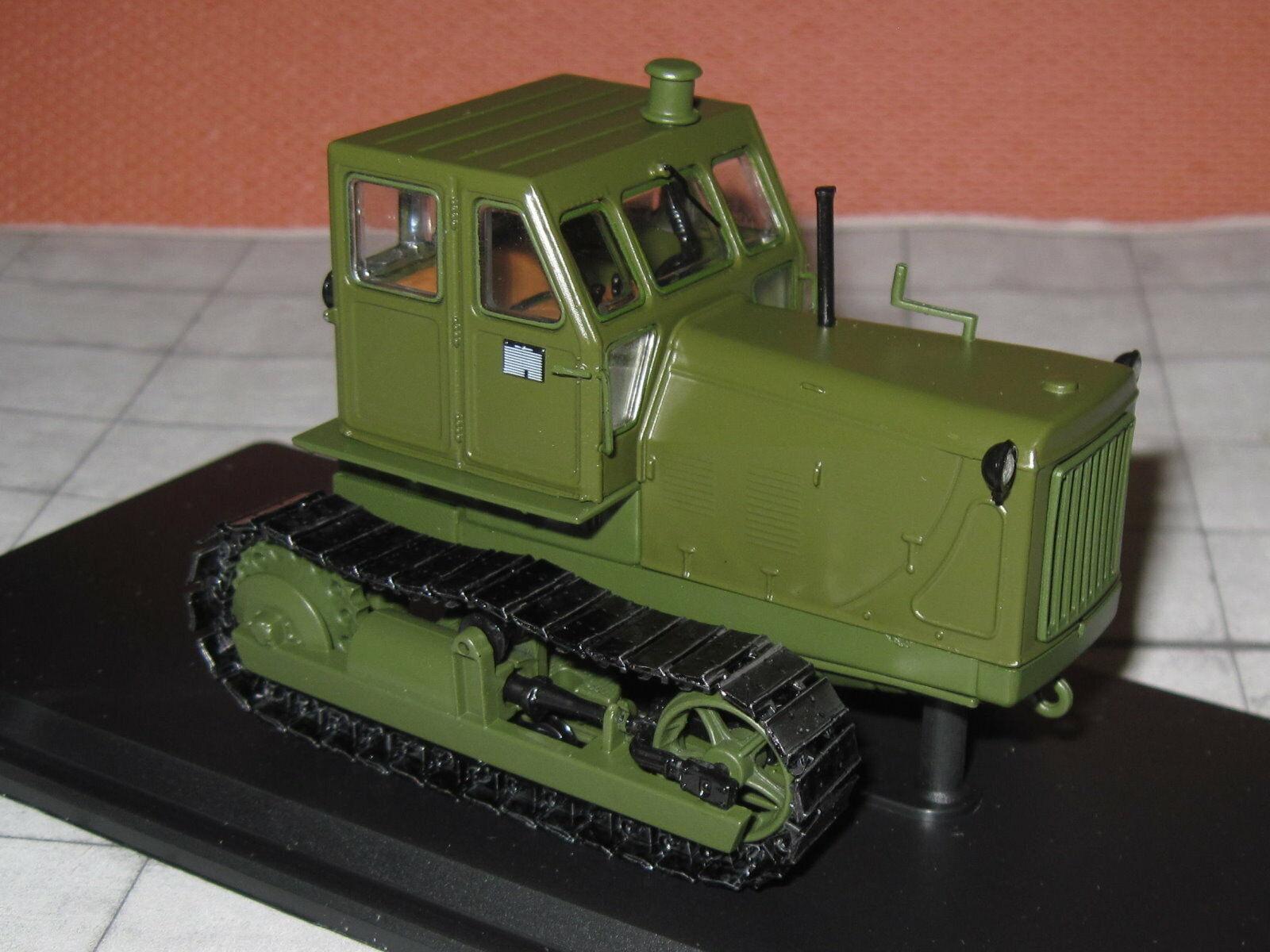 Herpa-SSM 3022 - 1 43 - tractores oruga t-100 - cadenas tractor-verde