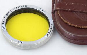 ROLLEI  Yellow Medium  Case  Rolleiflex Filter Rolleicord  gelb mittel - Ceredigion, United Kingdom - ROLLEI  Yellow Medium  Case  Rolleiflex Filter Rolleicord  gelb mittel - Ceredigion, United Kingdom