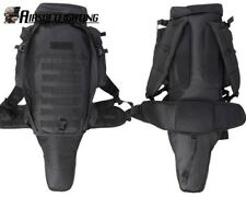 Tactical Military Police Airsoft MOLLE Dual Rifle Gun Case Backpack Bag Black a