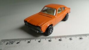 Vintage-Matchbox-Superfast-54-Ford-Capri-Rare-All-Orange-Body