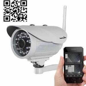 f71aba7045615d Wansview Wireless IP Camera Outdoor P2P Plug Play Network Waterproof ...