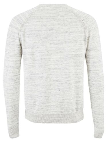 Nuovo Da Cotone Di Girocollo Pullover Casual Maglione Maglia Threadbare Uomo p4dqpw