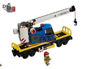 Lego-City-Cargo-Train-60198-GRUE-WAGON-Transport-Seulement-Pas-sous-tension-inclus