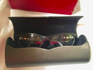 cb5af3d44a9a Image is loading Used-Cartier-Glasses-Case-amp-Box