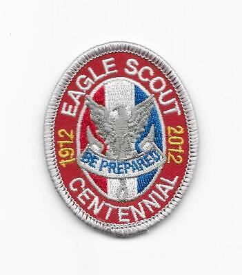 """Type 12 /""""Centennial/"""" BSA Boy Scout Eagle Rank 1912-2012 Patch"""