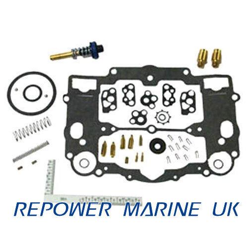 Karburator Nachgebautes Set für 8m0120193 Webber, Mercruiser V8 Ersatz: 809064, 8m0120193 für 3bbb7b