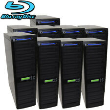90 SATA Blu-ray CD DVD Disc Burner Daisy Chain Duplicator Multi Copier Machine