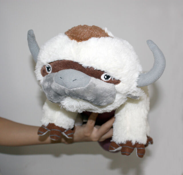 Avatar 2 Animals: The Last Airbender Plush Avatar Appa Toy Soft Stuffed