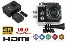 Pro Cam WiFi Wireless 16MP 4K Ultra HD Sport Action Camera Videocamera Subacquea
