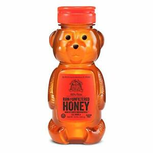 Nature Nate's 100% Pure, Raw & Unfiltered Honey; 12oz. Squeeze Bottle;