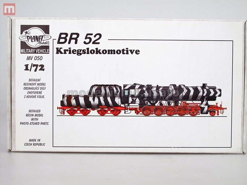 Planet Models BR-52 Kriegslokomotive 1 72 Resin MV050 modellismo statico