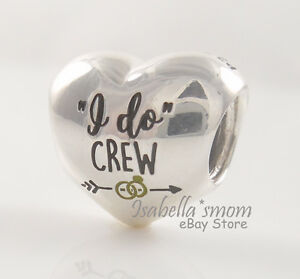 I DO CREW Authentic PANDORA Silver BACHELORETTEBRIDESMAID Heart - Service invoice template free word pandora store online