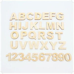 Details about 1 5cm TO 12cm WOODEN LETTERS & NUMBERS ARIAL BOLD FONT  PERSONALISED ALPHABET
