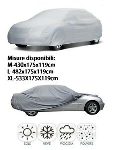Telo-Auto-copriauto-impermeabile-copertura-copri-auto-anti-pioggia-sole-Tag-XL