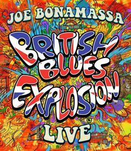 Joe-Bonamassa-British-Blues-esplosione-Live-2dvd-2-DVD-NUOVO