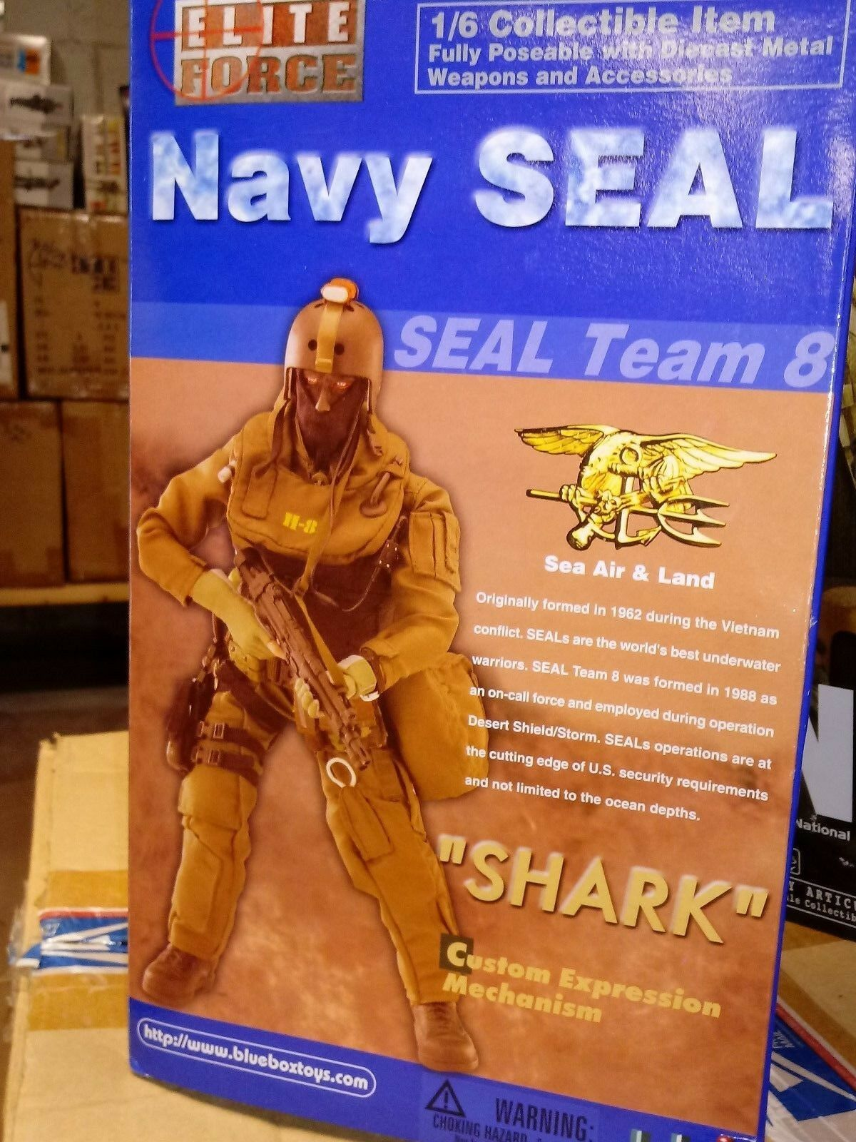 US Navy SEAL Team 8  1 6
