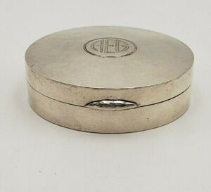 Vintage-Tiffany-amp-Co-Monogrammed-Sterling-Hand-Hammered-Cosmetic-Holder-7372