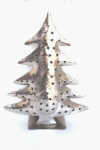 Handmade-New-Iron-X-Mas-Tree-Shape-Candle-Stand-Home-Decor-Collectible-PT-74
