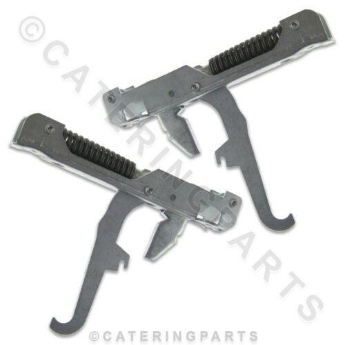 WHIRLPOOL PAIR OF DOOR/LID HINGES K20 K40 AGB022 AGB024 ICE CUBE MACHINE PHILIPS