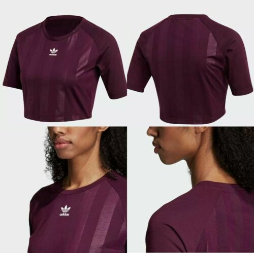 NWT women's Adidas AA42 Tee Top PURPLE Color Size XSMALL CE4187