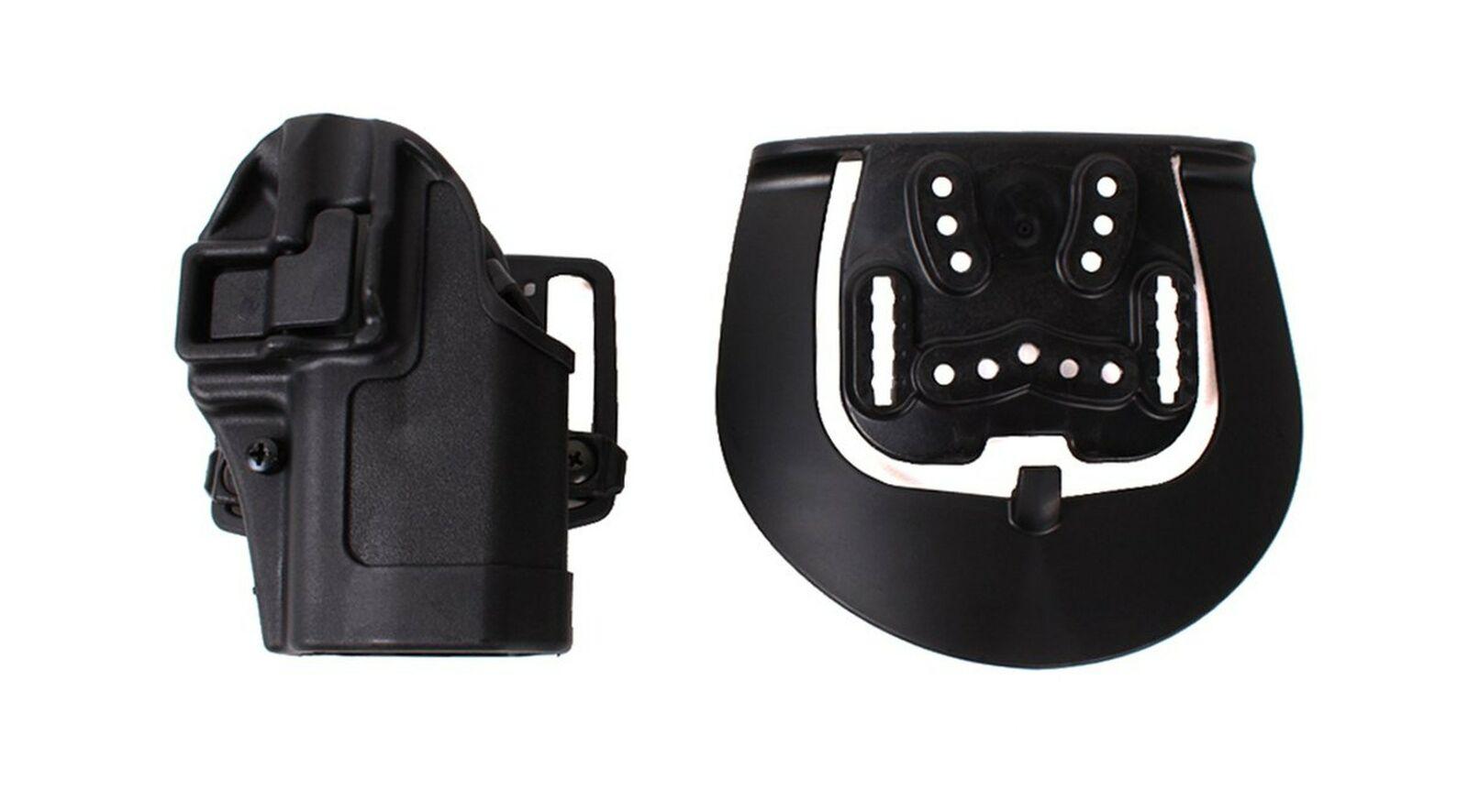 Blackhawk 40AH12BKR CQC Ankle Holster Sz 12 for sale online