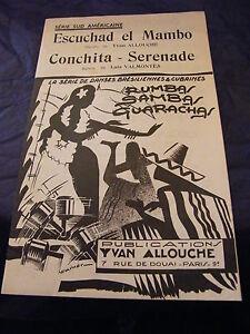 Partitura-Escuchad-El-Mambo-Yvan-Allouche-Conchita-Serenade-Luis-VALMONTES