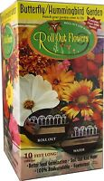 Garden Innovations Hb1000 10-inch By 10-foot Roll Out Flowers, Butterfly Humming