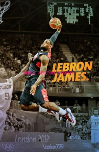 LEBRON JAMES Photo Quality Poster 5 Choose a Size