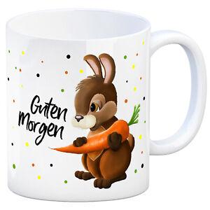 Details Zu Guten Morgen Kaffeebecher Hase Kaffeetasse Tasse Frühstück Tier