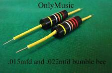 Compatible with LES PAUL SG Repro Bumblebee  capacitor .015 mfd & .022 mfd