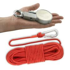 Online Magnets 300 X Recovery Fishing Clamp Magnet With 30 Metres Of Rope