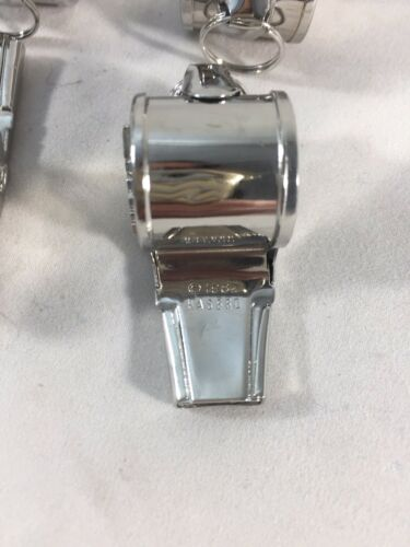 4 Vintage Silverplated G.I Joe Hasbro Whistles
