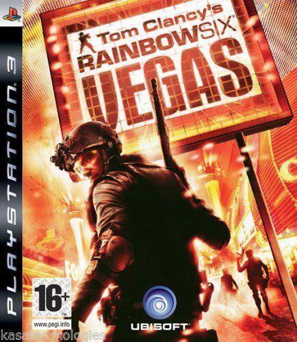 Tom Clancy's Rainbow Six: Vegas PS3, 2007 USED PAL