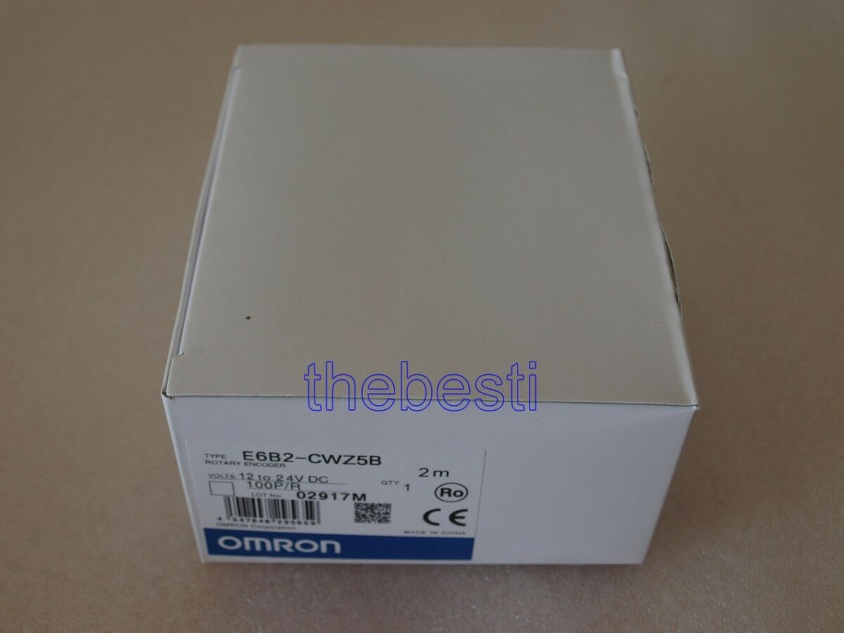 One New Omron E6B2-CWZ5B 20P  R In Box