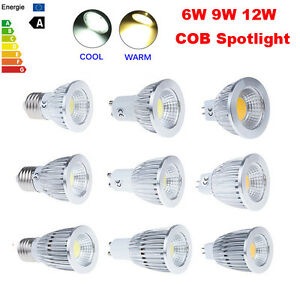 New-LED-COB-Bombillas-MR16-E27-GU10-Dimmable-Spotlight-Bulb-Lamp-Focos-6W-9W-12W