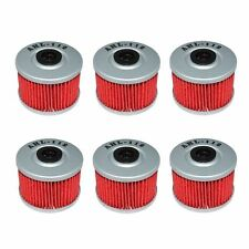 6 Pack Oil Filter Filters For Honda Fourtrax TRX250 85-87 TRX250X TRX700XX 08-09