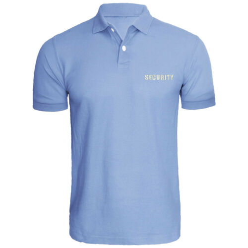 Mens SECURITY Event Safety Embroidered Polo Shirts Men Tee