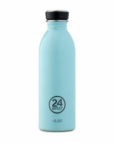 24 Bottles Urban bottiglia 500 ml ecosostenibile mezzo lt acciaio inox light