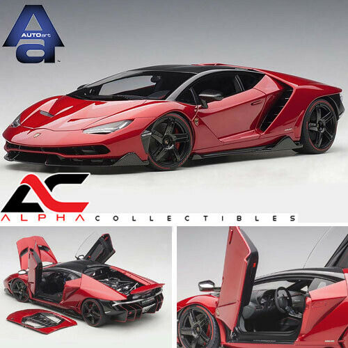 AUTOART 79112 1 18 LAMBORGHINI Centenario (rouge Efesto Metallic Rouge) Supercar