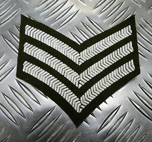 Genuine-British-Army-Sergeant-Rank-Stripes-Chevrons-Badges-Patches