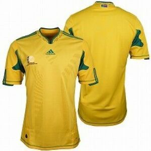 World Cup South Africa Host Team Soccer Jersey Images ...  South Africa Soccer Jersey