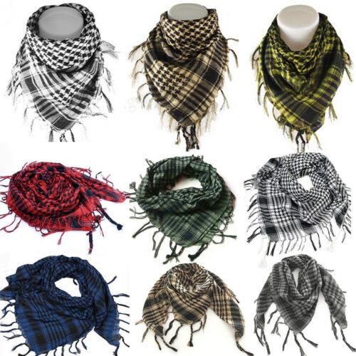 PLO Pali Tuch Herren Damen Palästinensertuch Schals Kariert Arafat Halstuch Wrap