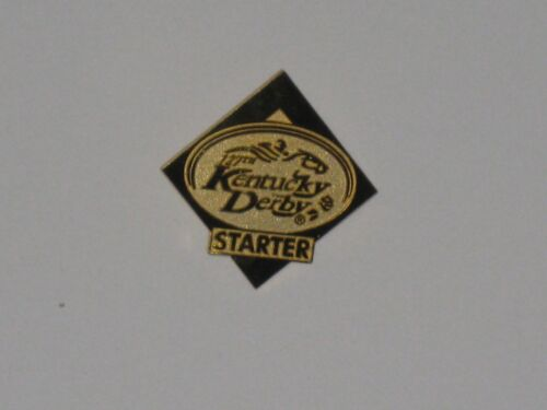 2001 KENTUCKY DERBY STARTER PIN METAL