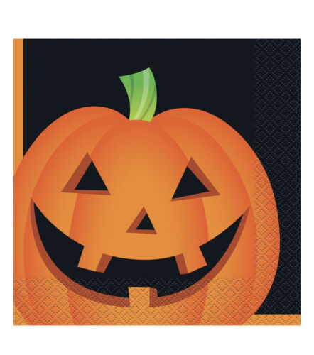 Halloween Pumpkin Lunch Napkins 2 Ply 45 Pcs Your Choice One Pack New