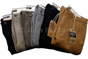 Autentico-Dockers-D1-hombre-pantalones-Suave-Caqui-Chinos-Recto-PIERNAS
