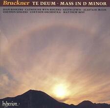 Bruckner: Te Deum; Mass in D minor (CD, Sep-1993, Hyperion) Free Shipping