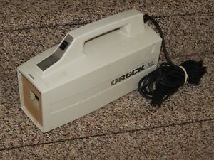 Oreck Xl Bb870 Aw White Canister Vacuum Cleaner For Parts
