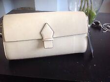 Zara cream beige bowling messenger Cross body bag bnwt