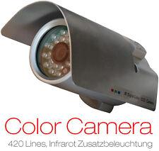 ÜBERWACHUNGSKAMERA CCTV HW-815 NACHTSICHTKAMERA LED IR KAMERA SONNENLICHTSCHUTZ