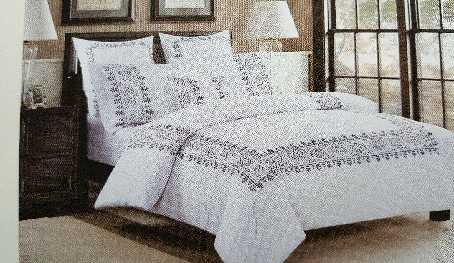Luxe King Größe 3 Piece  Duvet Set 100% Cotton(Exclusive of embroidery)